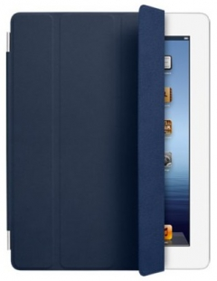 Apple iPad Smart Cover - Leather - Navy
